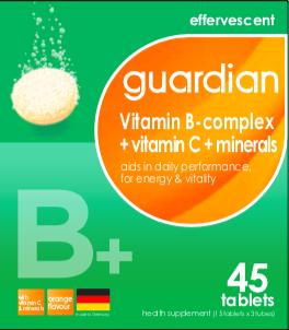 #FizzWithMe - Vitamin B-complex + Vitamin C + Minerals