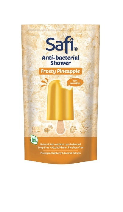 SAFI Anti-Bacterial Shower FROSTY Pineapple