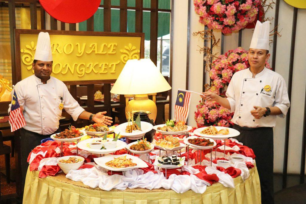 Promosi Makanan Bulan Merdeka di GBWHSA