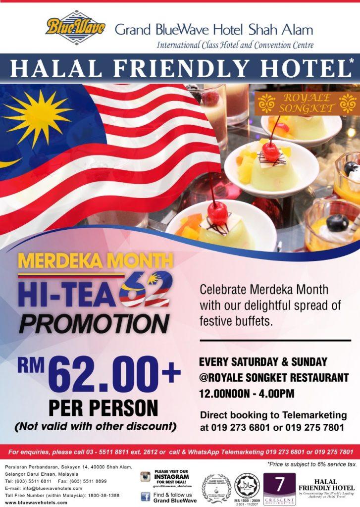Promosi Makanan Bulan Merdeka - Promosi Hi Tea