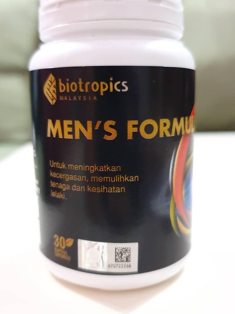 Men's Formula Biotropics