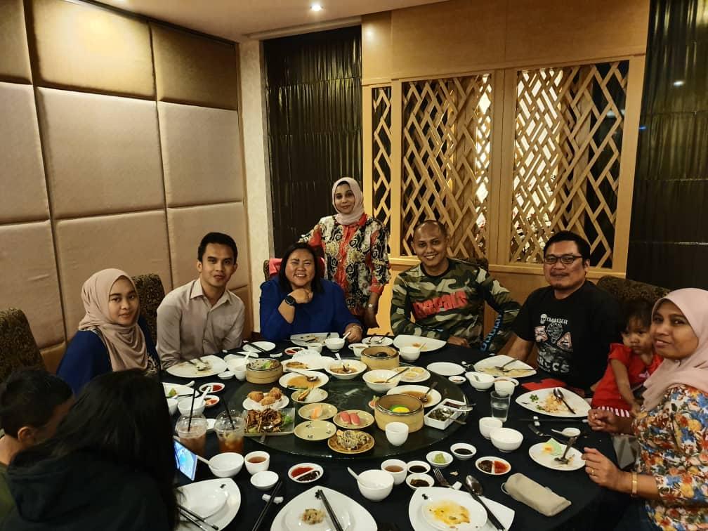 Geng blogger kaki makan