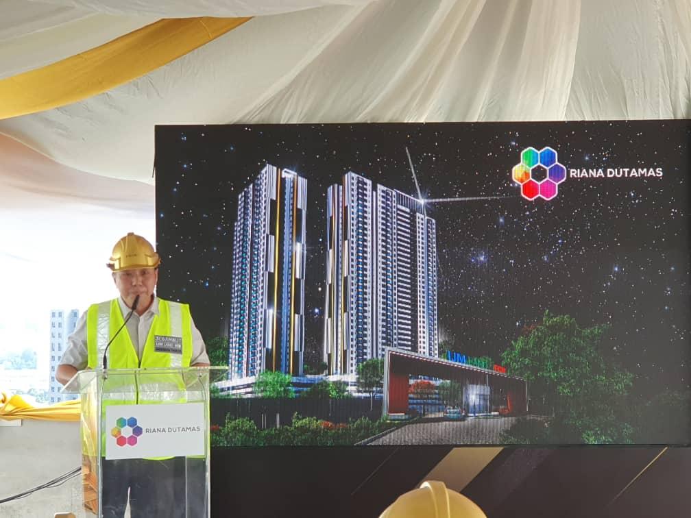 Pengarah Ekskutif FCW Holdings Berhad, Dato' Anderson Thor Poh Seng