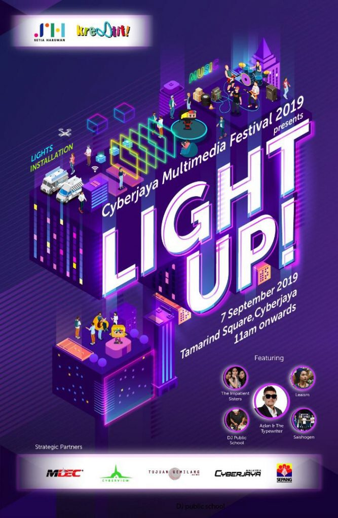 Cyberjaya Multimedia Festival 2019 - Light Up