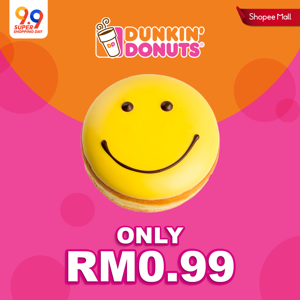 RM0.99 Dunkin' Donuts