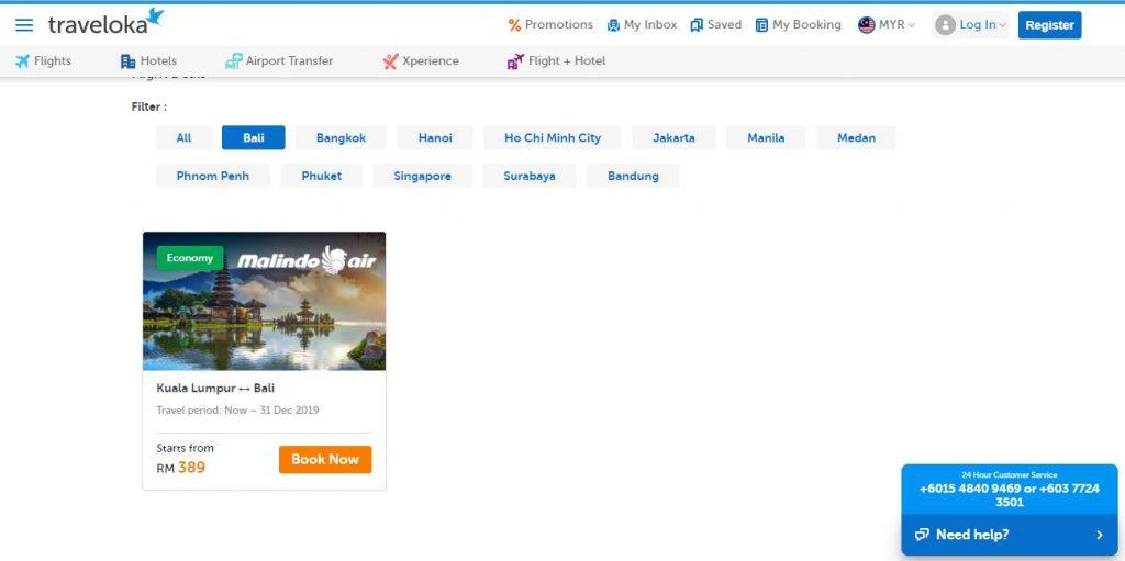 Website Traveloka