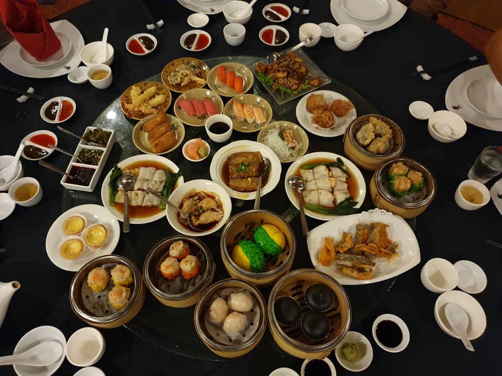 Dim Sum dan Japanese Delacacies di China Treasures
