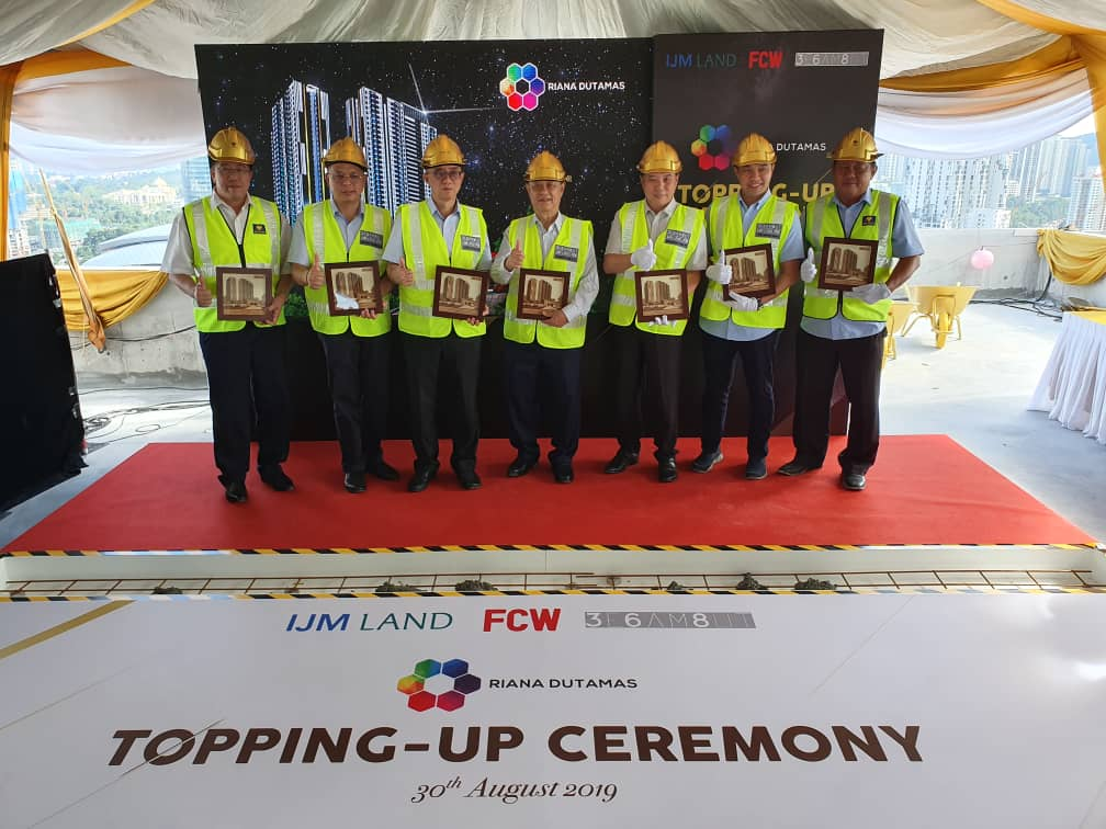 Topping Up ceremony by VVIP