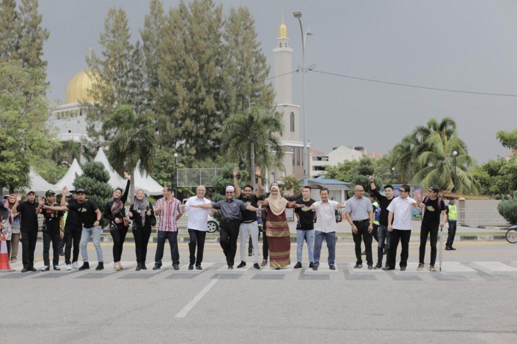 Team Pengurusan Kanan di Karnival Jom Heboh Pulau Pinang