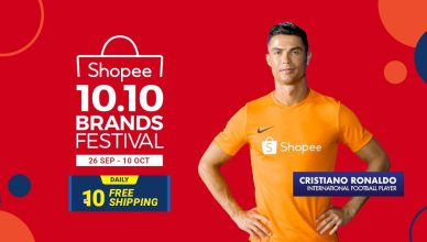 Shopee 10.10 Brands Festival Key Visual