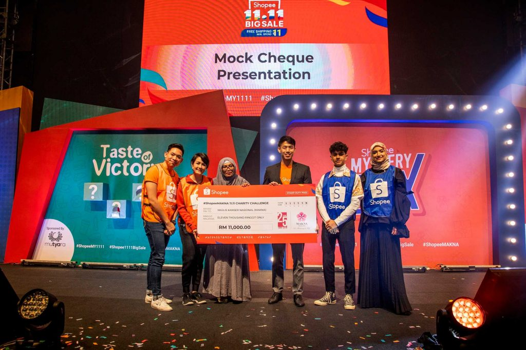 #ShopeeMAKNA 11.11 Charity Challenge