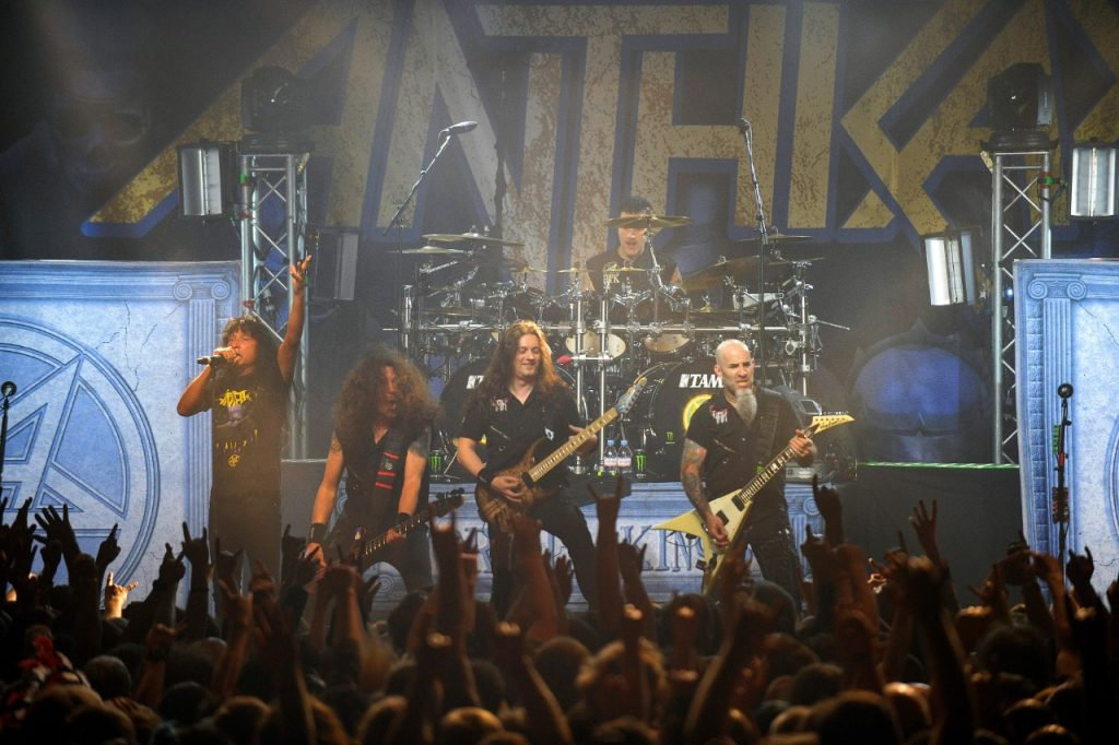 Konsert Anthrax