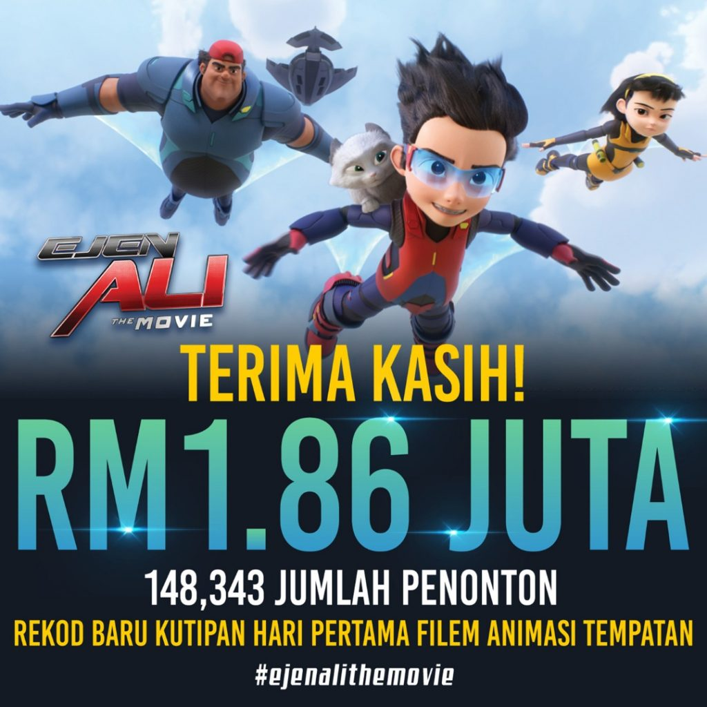 Pecah Panggung : Ejen Ali The Movie