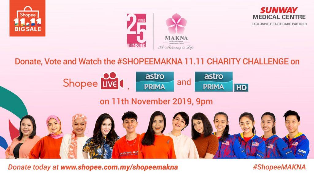 ShopeeMAKNA 11.11 Charity Challenge