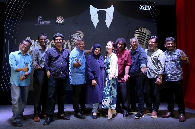 Barisan pelakon dan pelawak untuk Stand Up Comedy Otai