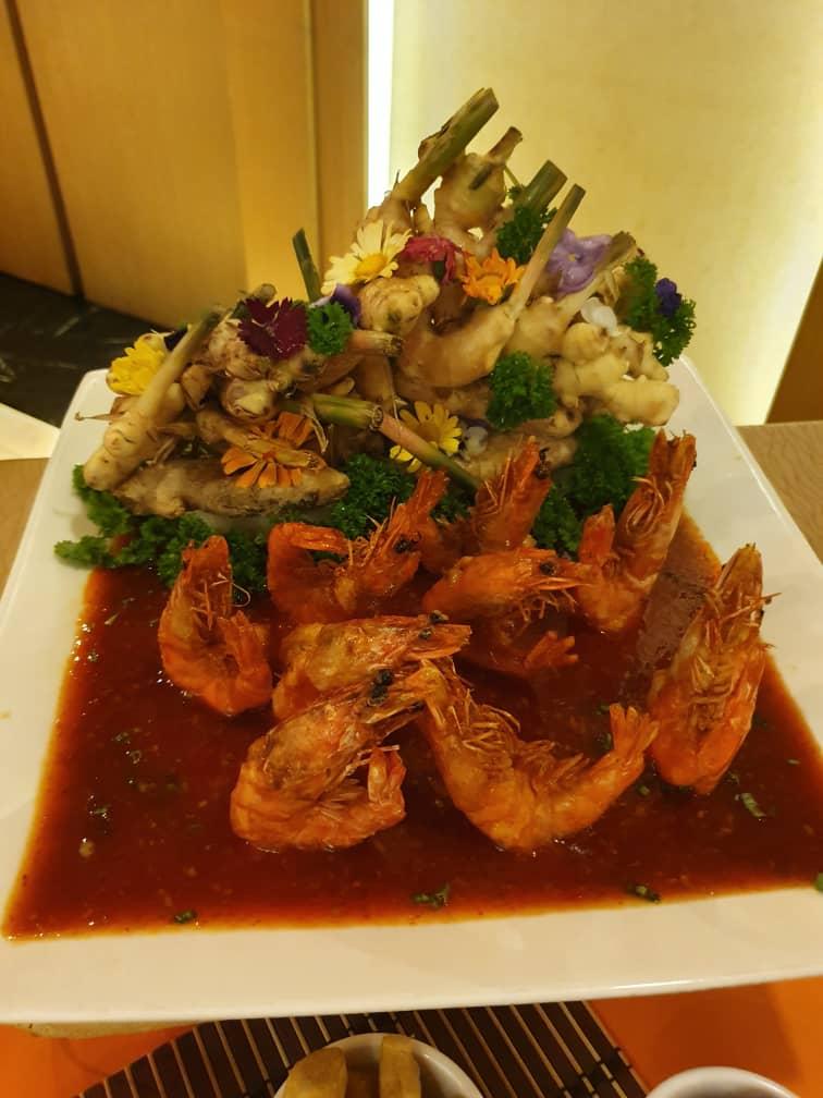 Deep Fried Prawn with Spicy Chili Garlic Sauce