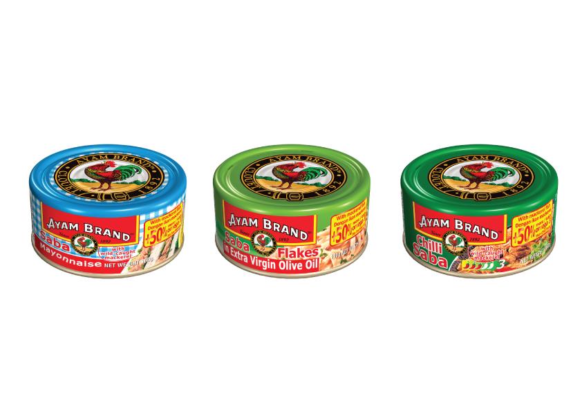 Ayam Brands Saba Mackarel Flakes