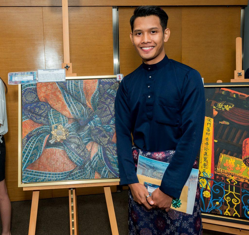 Muhammad Aqmar Dini Bin Omar, pelajar Selangor dari Universiti Teknologi MARA