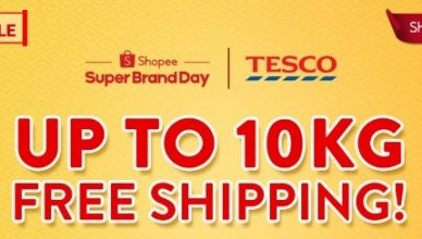 TESCO Shopee Super Brand Day