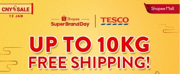 TESCO Shopee Super Brand Day