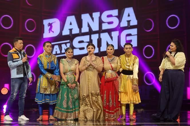 Nik Qistina & DP Fam menjadi peserta kedua yang meninggalkan pentas 'Dansa Dan Sing' minggu lalu
