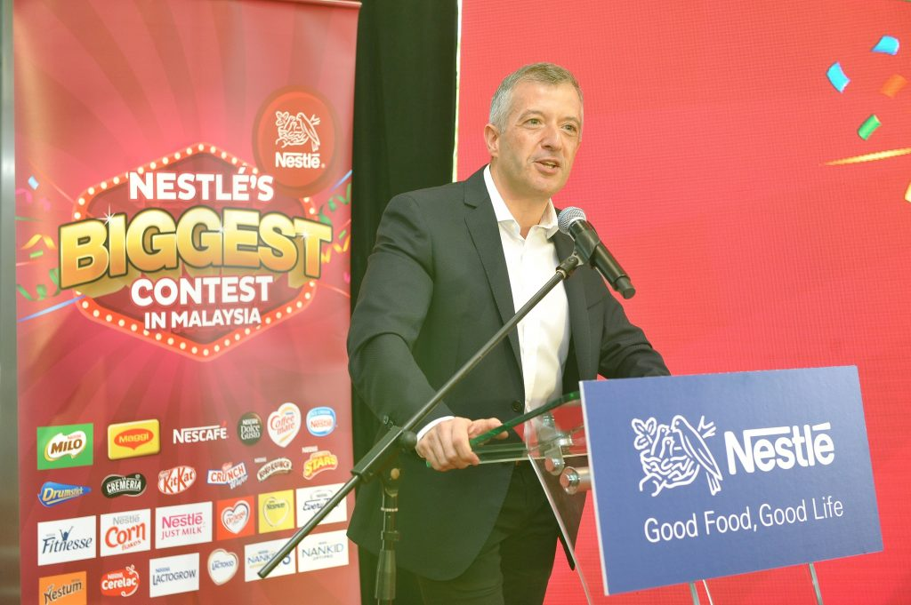 Ketua Pegawai Eksekutif, Nestlé (Malaysia) Berhad, Encik Juan Aranols