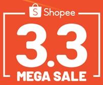 Shopee 3.3 Mega Sale