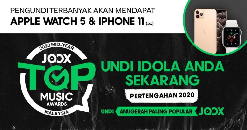 JOOX Malaysia Top Music Awards