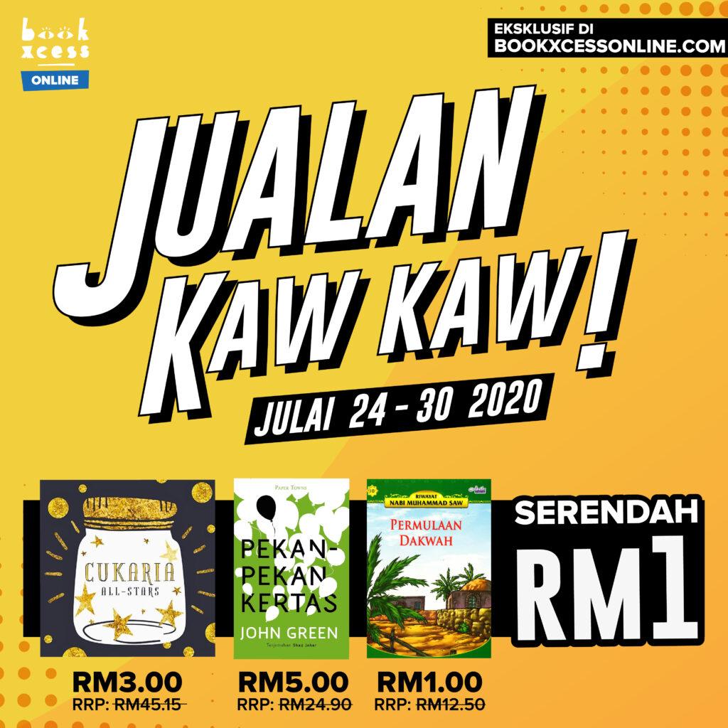 Jualan Kaw Kaw Serendah RM1