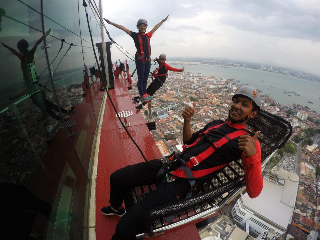 Menara Skywalk Melengkung Pertama Di Dunia 2 - Pulau Pinang