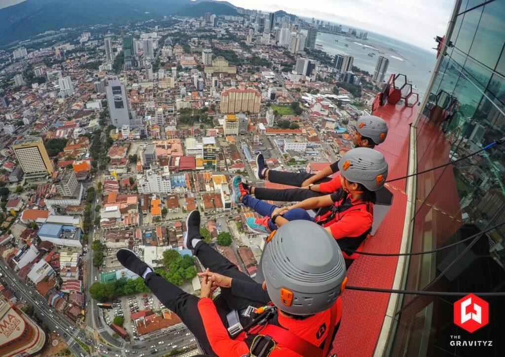 Menara Skywalk Melengkung Pertama Di Dunia - Pulau Pinang