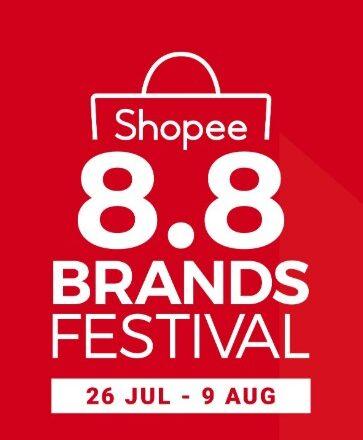 Shopee 8.8 Brands Festival banner