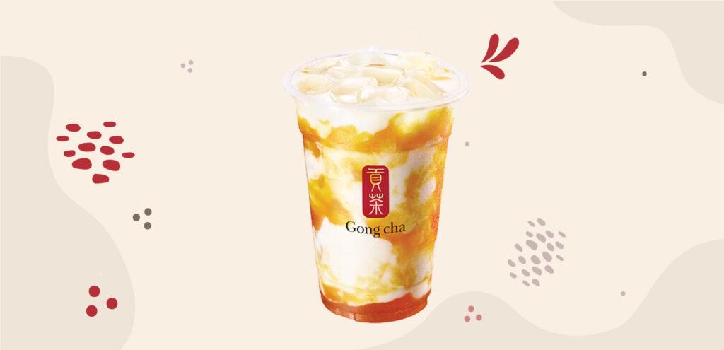Siri e-Minuman: Mango Latte