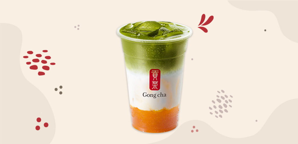 Siri e-Minuman: Mango Matcha Latte
