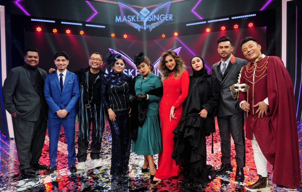 Juri-Juri The Masked Singer Malaysia 0 Aina Abdul Juara