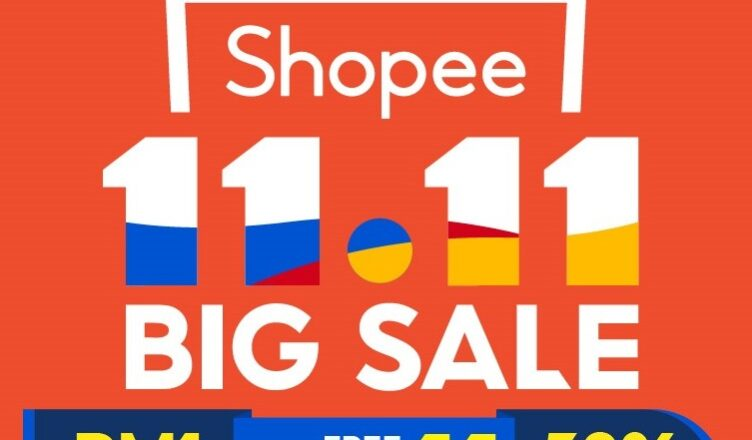 Shopee 11.11 Big Sale banner