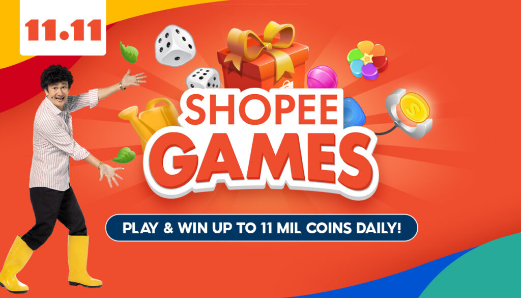 Jualan Hebat Shopee 11.11 - Shopee Games