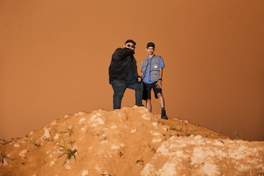 duo hip-hop GARD WUZGUT menjadi artis pertama dan sebagai pembuka tirai untuk siri muzik ini di JOOX