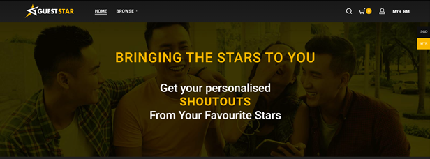 Gueststar - bringing the star to you