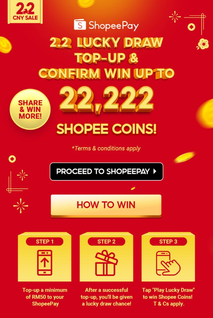 Shopee 2.2 - Lucky Draw