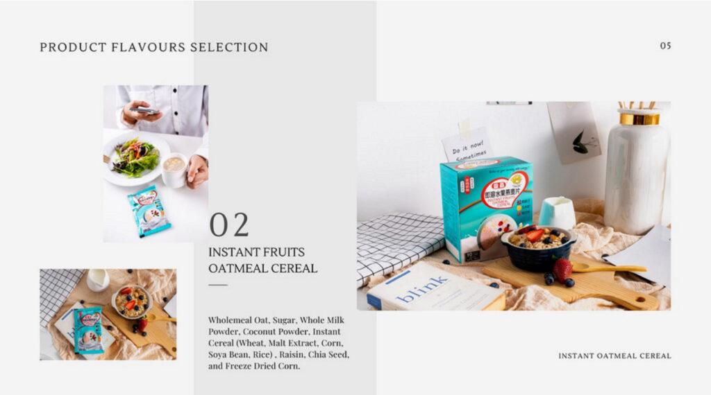 Sarapan Pagi - bijirin oat segera (buahan segera)_01