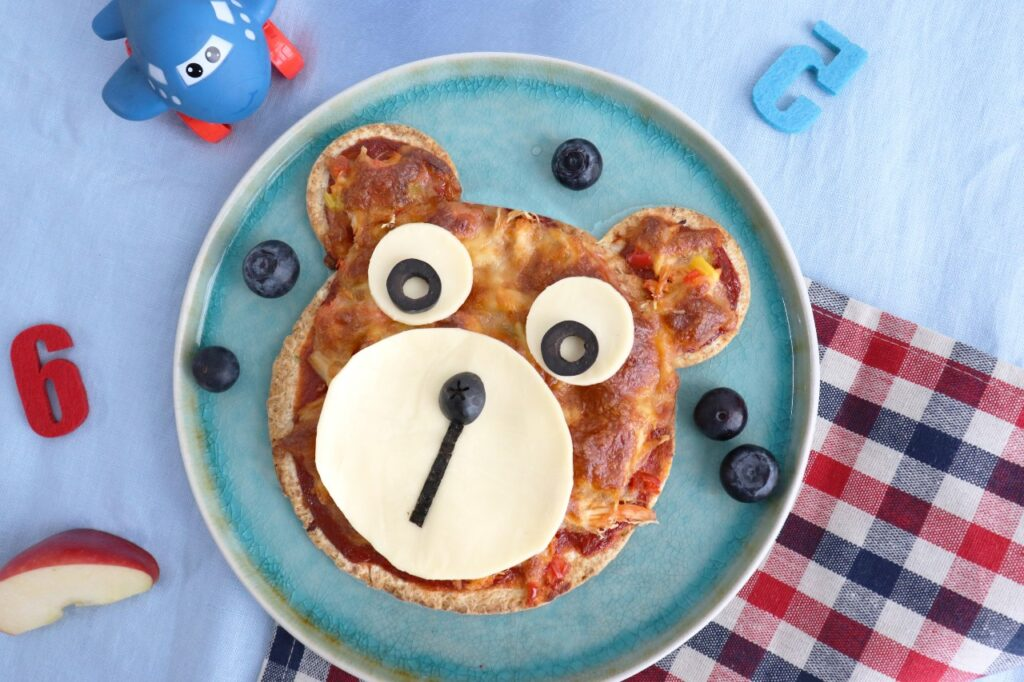 Bear-Bear-Pizza-Mini Wraps