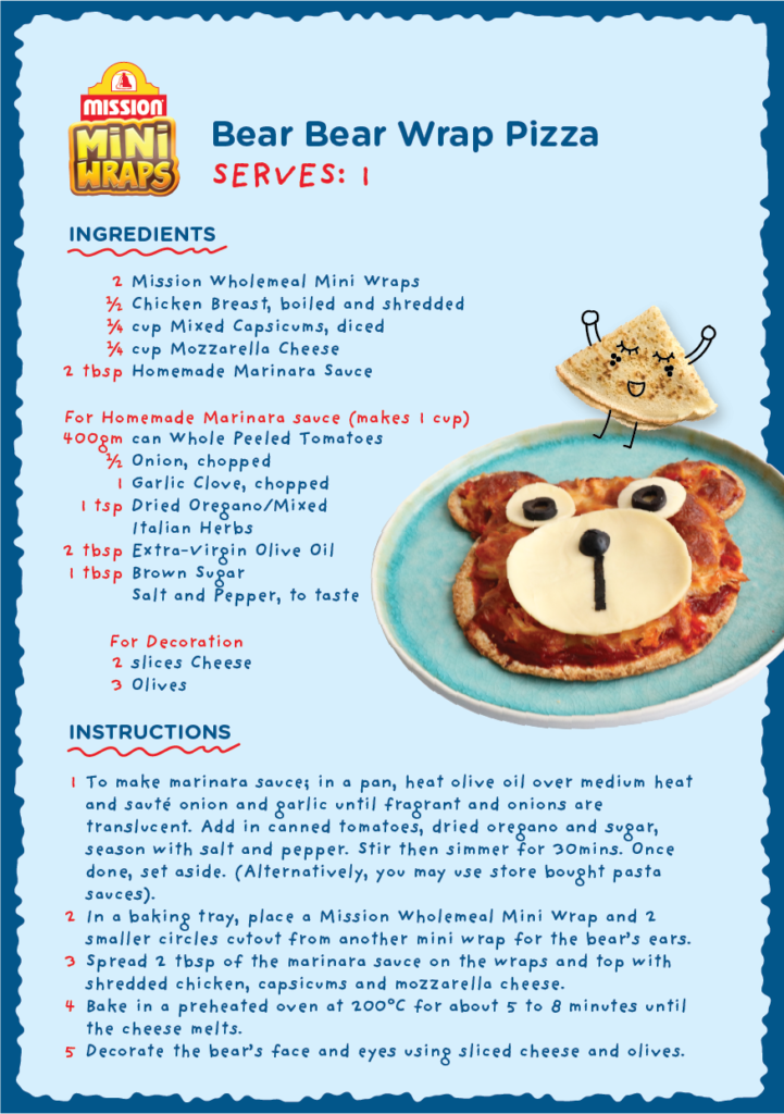 Bear Bear Wrap Pizza1