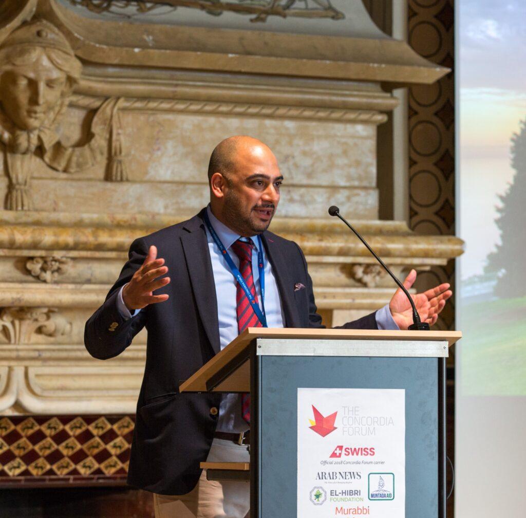 Pengasas dan CEO ImamConnect yang juga ahli perniagaan Islam Britain, Muddassar Ahmed